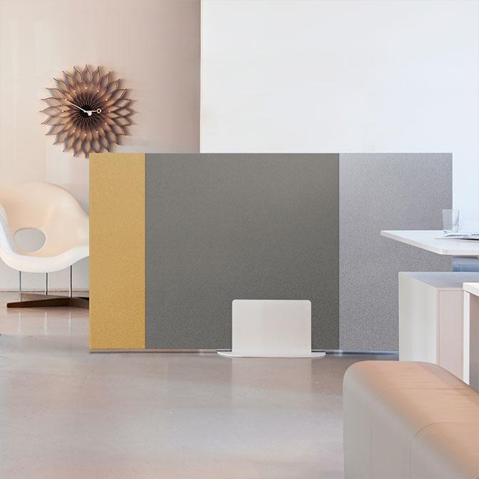 SPATIO Aménagement est distributeur d'un ensemble de solutions de traitement acoustique pour réduire les nuisances sonores de vos espaces de bureaux