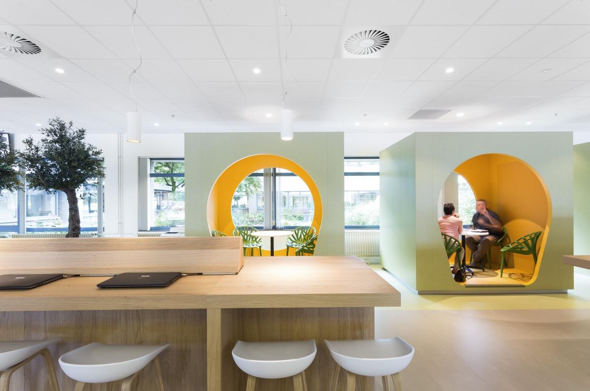 Spatio Aménagement conçoit le design de vos espaces de bureau.